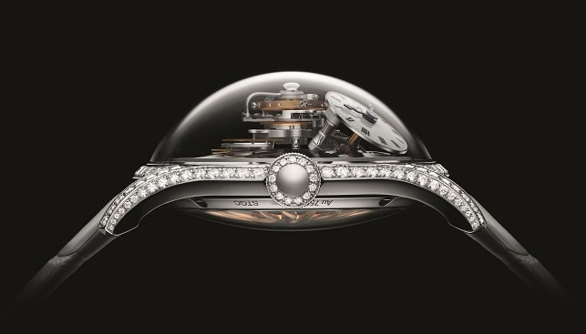MB&F ladies diamonds watch