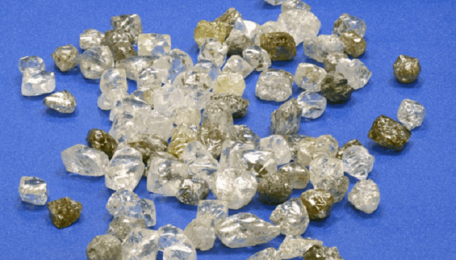 alrosa rough diamonds russia