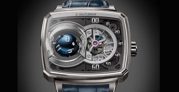 hautlence three dimensional wristwatch
