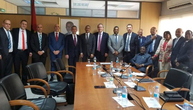 IDE Leaders visit to Angola