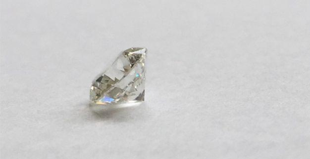 white polished diamond