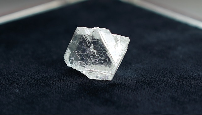 Alrosa Russia gem diamond