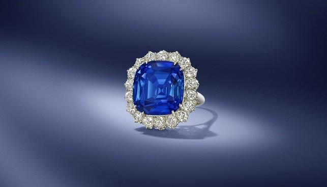 sapphire diamond ring Bonhams