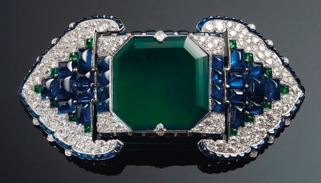 emerald sapphire diamond Cartier