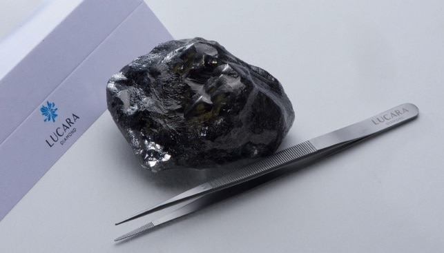 lucara 1758 carat diamond
