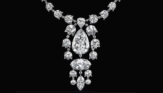 Belle Époque diamond ornament
