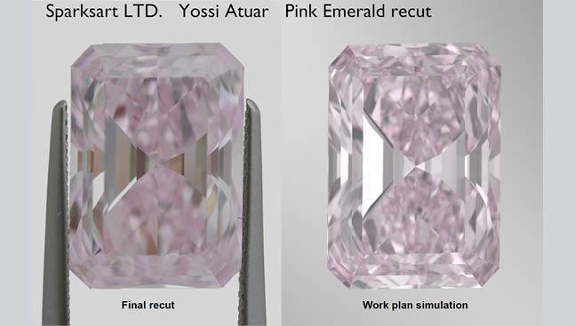 pink emerald diamond Yossi Atuar