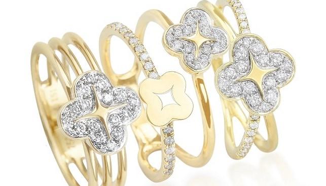 Alyssum Mudan diamond watch