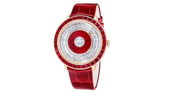 Fabergé diamond timepiece