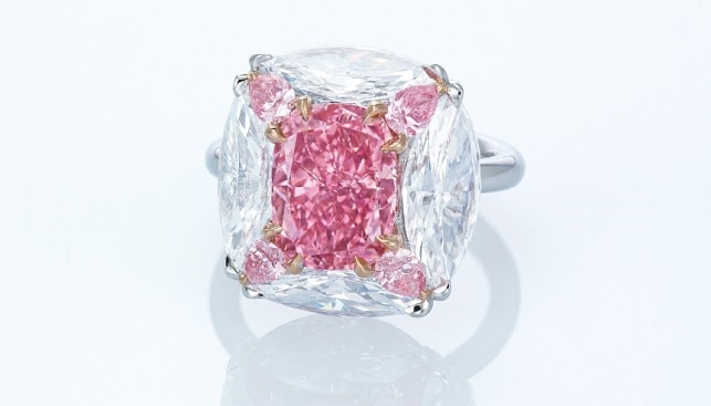 christies pink diamond ring