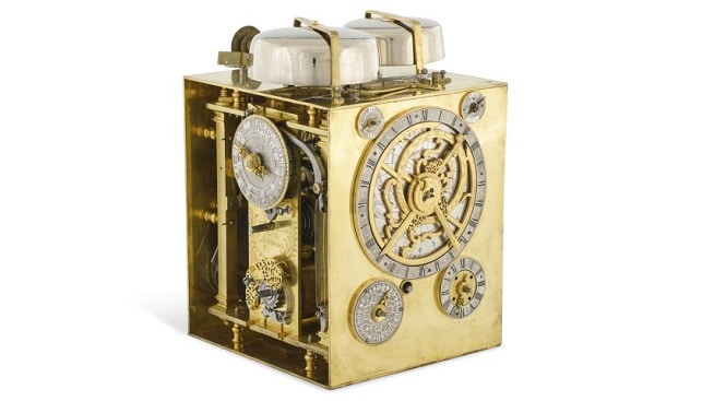 mastrepiece table clock movement