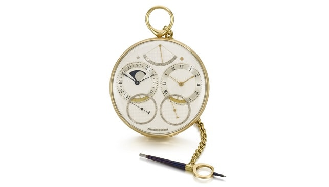 yellow gold watch sothebys