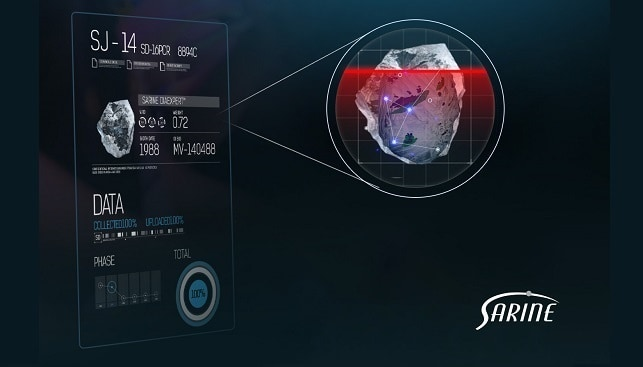 sarine diamonds scanning visual