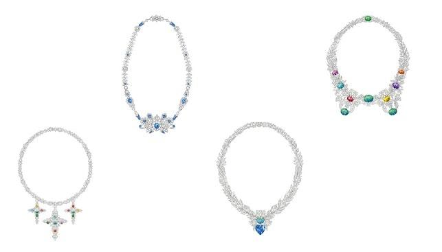 Gucci diamond Jewellery necklaces