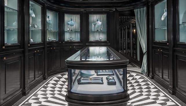 Gucci luxury jewelry store