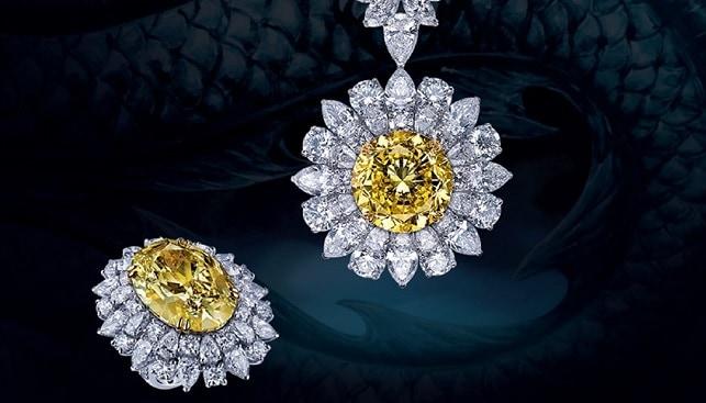 Mouawad Yellow White Diamond