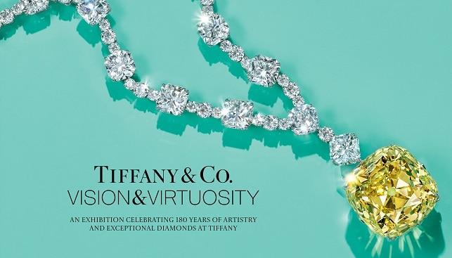 Tiffany diamond jewelry exhibition