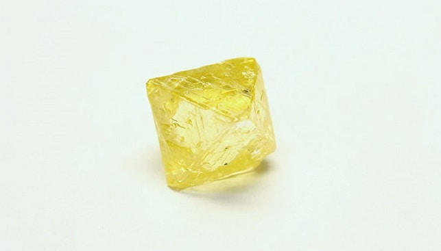 47.61 carat deep lemon yellow diamond by AGD