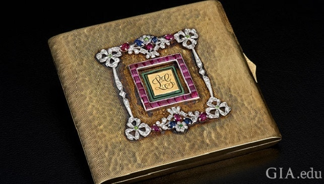 clark gable compact diamond