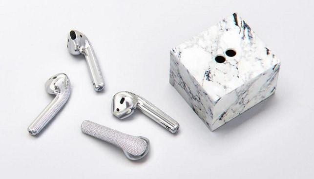 diamond encrusted airpods