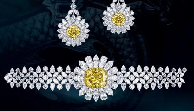 diamonds dragon suit Mouawad