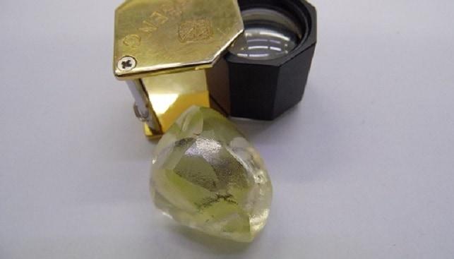 yellow diamond gem diamonds