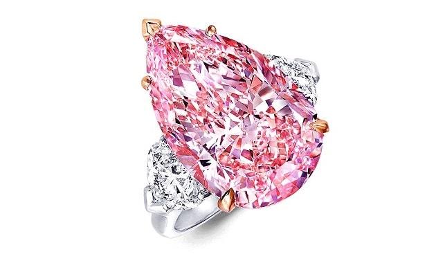 Graff Lesotho Pink diamond