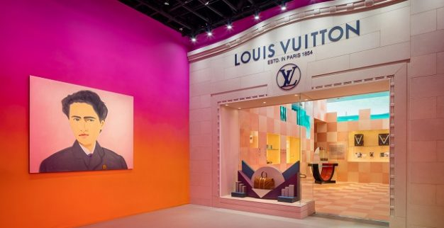 Louis Vuitton exhibition artists