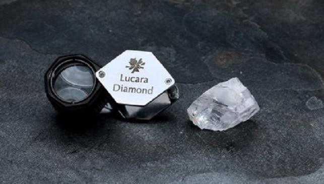 Lucara 123 carat diamond