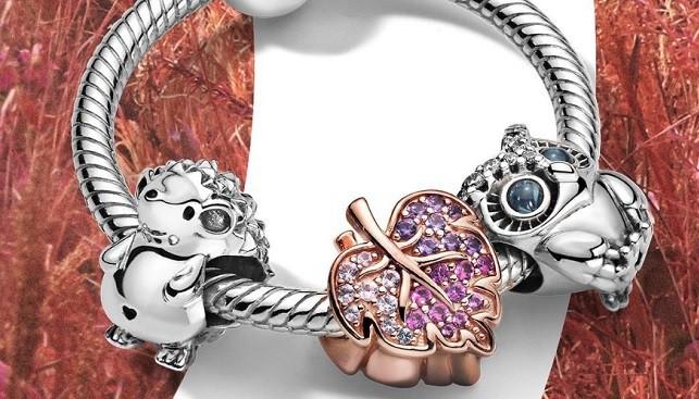 pandora charm bracelet gems