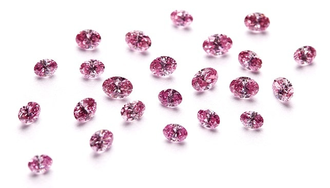 pink red diamonds australia