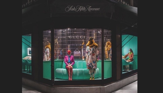 saks new york luxury store