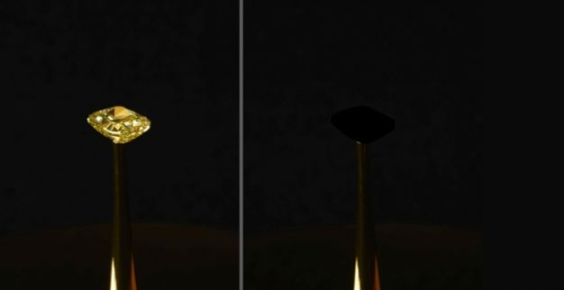 MIT Blackest Black diamond