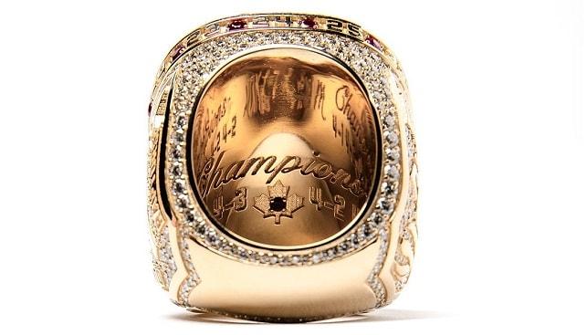 toronto raptors championship diamond ring