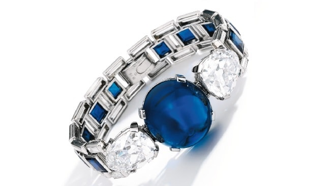 sapphire diamond bracelet cartier