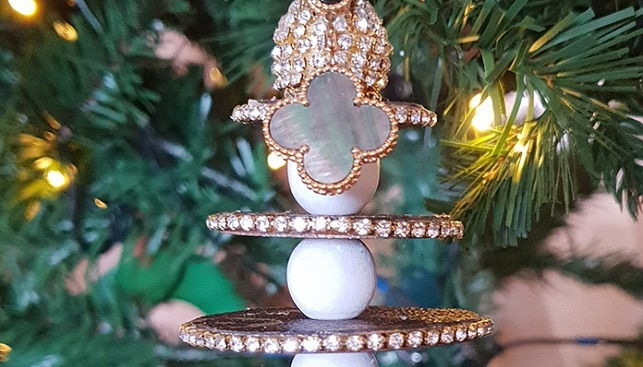 christmas tree diamond jewelry