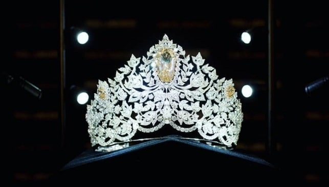 Miss Universe diamond crown Mouawad