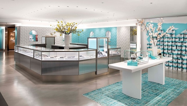 The Tiffany Flagship jewelry store in New York