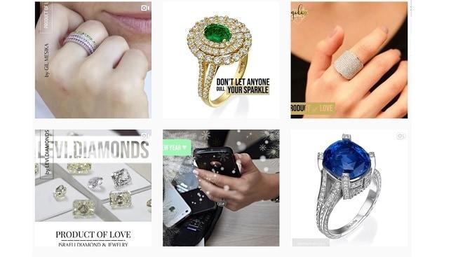 israeli diamond jewelry campaign
