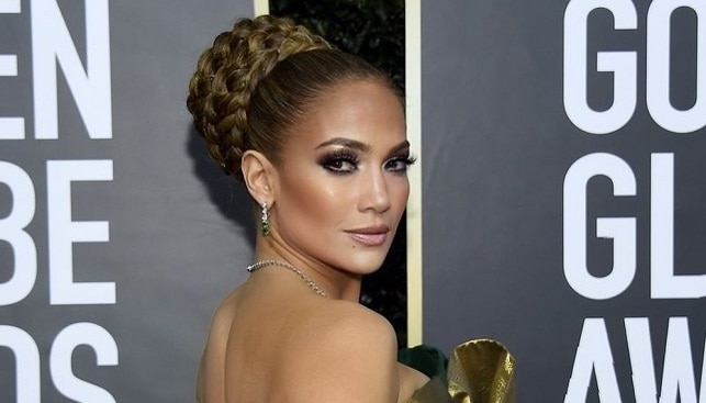 jennifer lopez diamond jewelry at the golden globe