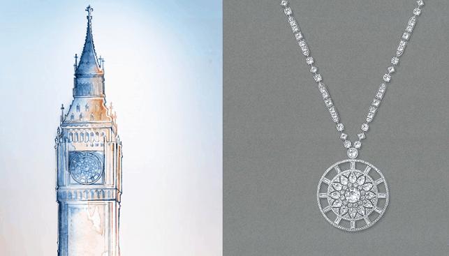 london tower diamond jewelry by de beers