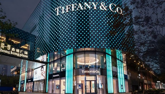 tiffany flagship jewelry store in Shanghai