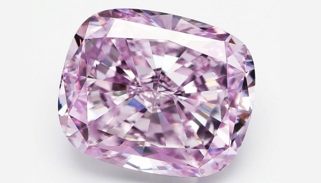 Larry West pink diamonds