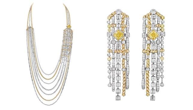 chanel Tweed diamond jewelry