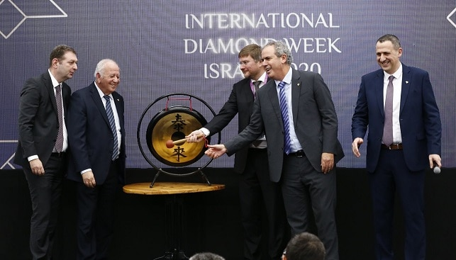 diamond week opening israel