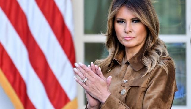 Melania Trump diamond jewlery