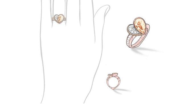 Anna Hu coronavirus diamond jewelry