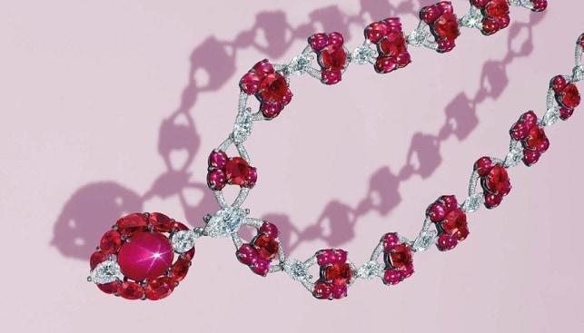 Burmese Ruby Pendant Necklace