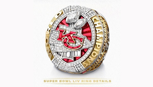 Kansas City Chiefs championship diamond ring