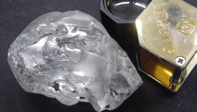 gem 442 carat big diamond